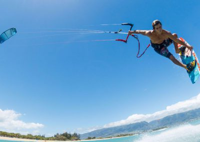 C-shape kitesurf kite / freestyle