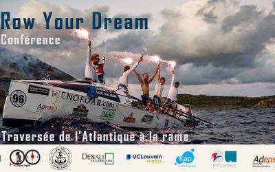 Conférence Row Your Dream — Traversée de l'Atlantique à la rame