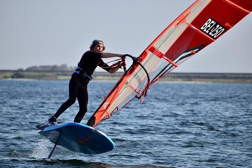WINDSURF: Interview de Cyril à la RTBF